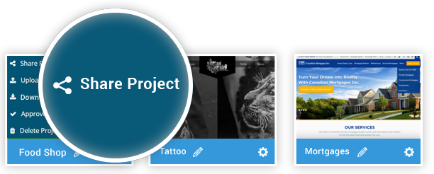 Share project